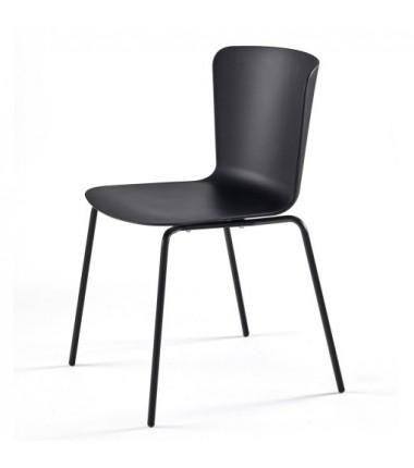 Chaise polypropylène CALLAS noir_1