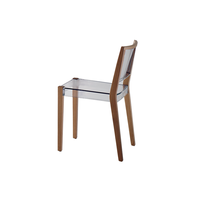 Chaise bois et polycarbonate DJUDE_2
