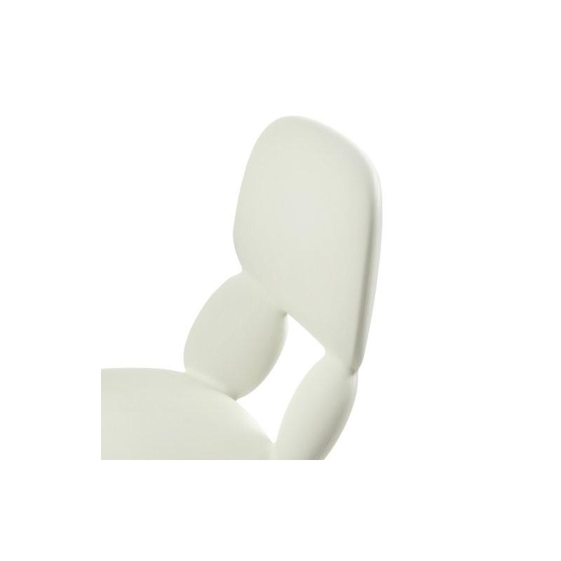 Chaise polyuréthane CYRUS blanche_1
