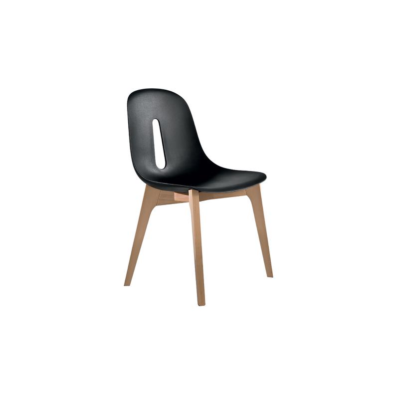 Chaise bois et polyuréthane WOODY_9