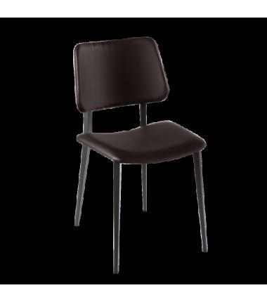 Chaise cuir LEONE