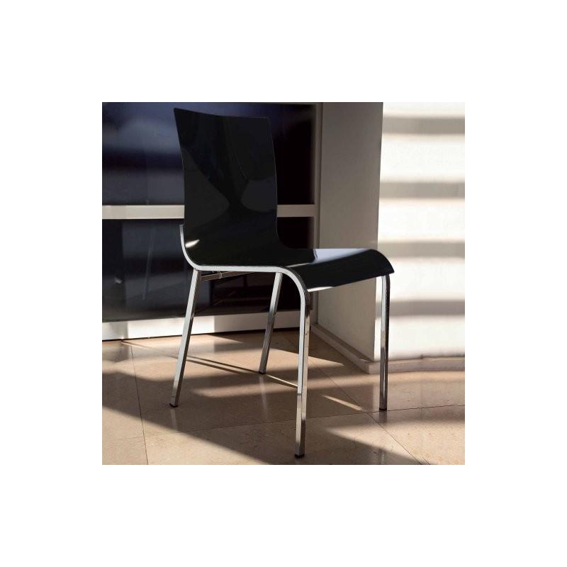 Chaise métacrylate ELEKTRE
