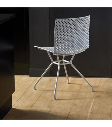 Chaise FERRIS 4 pieds métal verni_1