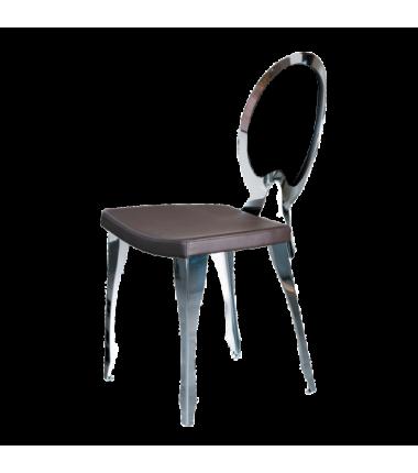 Chaise en tissu 'écopelle' LUIGI_3