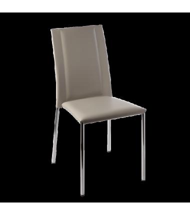 Chaise cuir R CHLOE9