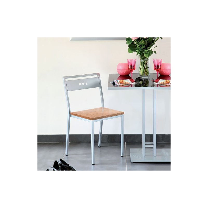 Chaise bois CUBIC hètre1