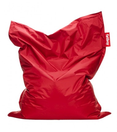 Pouf Original Nylon rouge