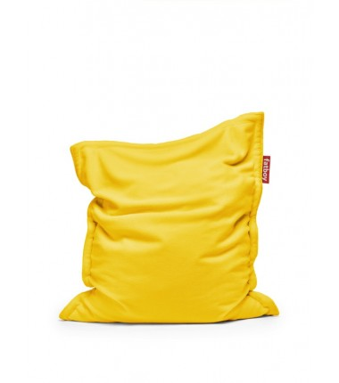 Pouf ORIGINAL SLIM TEDDY jaune