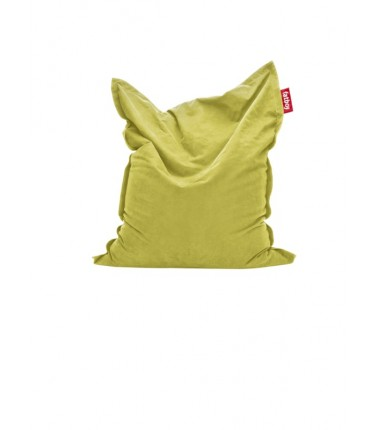 Pouf STONEWASHED COTTON jaune