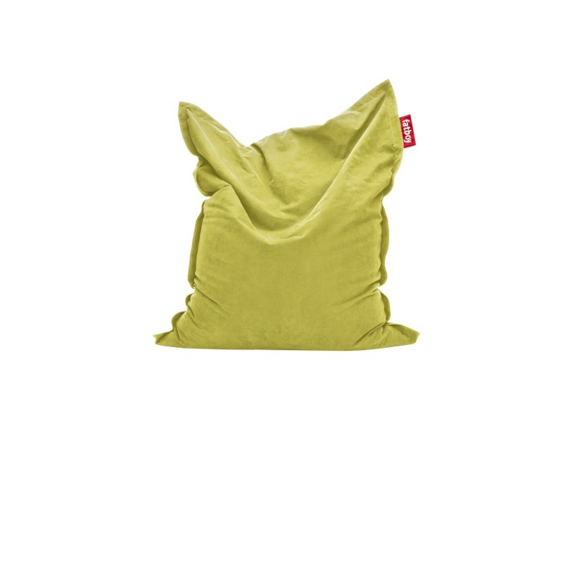 Pouf STONEWASHED COTTON jaune