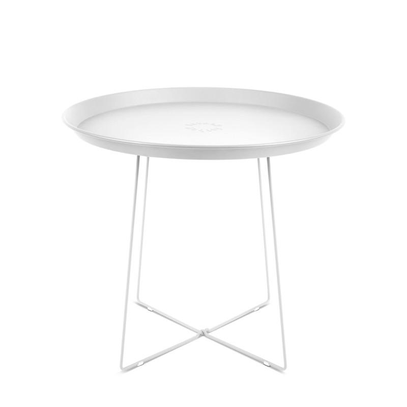Table PLAT-O blanc