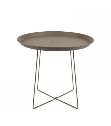 Table PLAT-O marron
