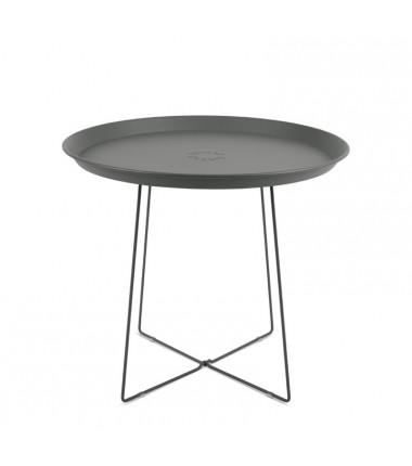 Table PLAT-O gris
