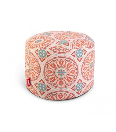 Pouf POINT DELUXE rouge