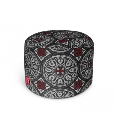 Pouf POINT DELUXE gris