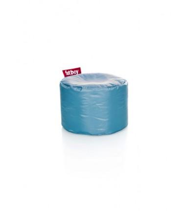 POINT NYLON POUF bleu electrique