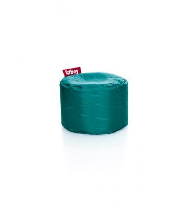 POINT NYLON POUF turquoise