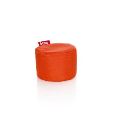 POINT NYLON POUF orange