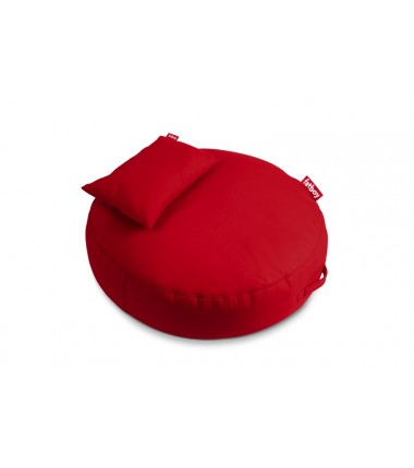 pouf PUPILLOW red