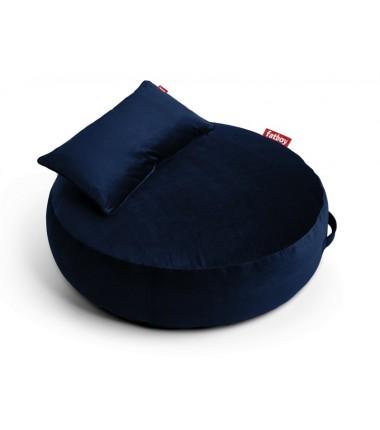 Pouf PUPILLOW VELVET bleu