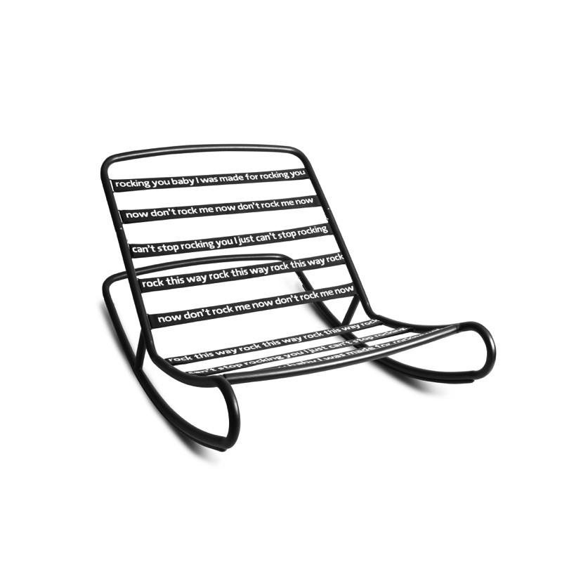 Chaise berçante ROCK 'N ROLL