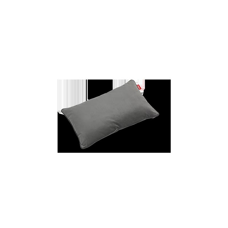 Coussin King pillow Velvet gris