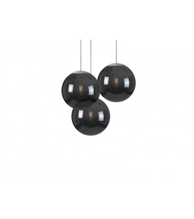 Lampe SPHEREMAKER 3 sphéres - Noir