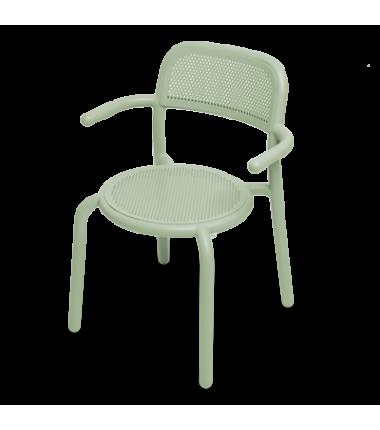 Chaise TONÍ ARMCHAIR vert
