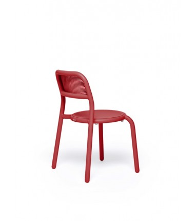 Chaise TONÍ CHAIR rouge 2
