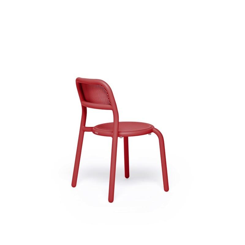 Chaise TONÍ CHAIR rouge 2