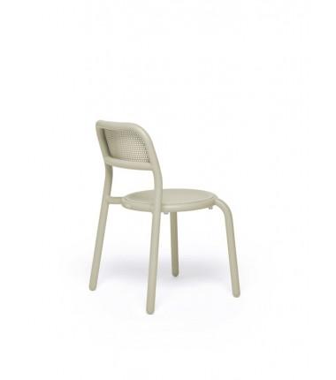 Chaise TONÍ CHAIR marron 2
