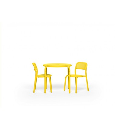 Table TONÍ BISTREAU jaune 3