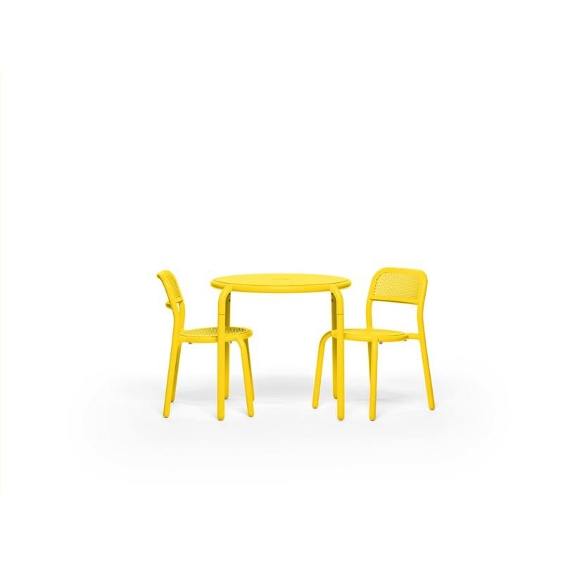 Table TONÍ BISTREAU jaune 3