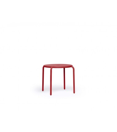 Table TONÍ BISTREAU rouge 4