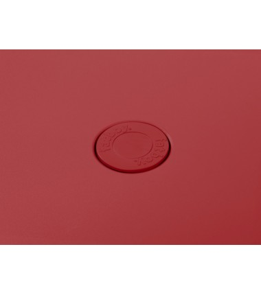 Table TONÍ BISTREAU rouge