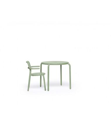 Table TONÍ BISTREAU vert 1